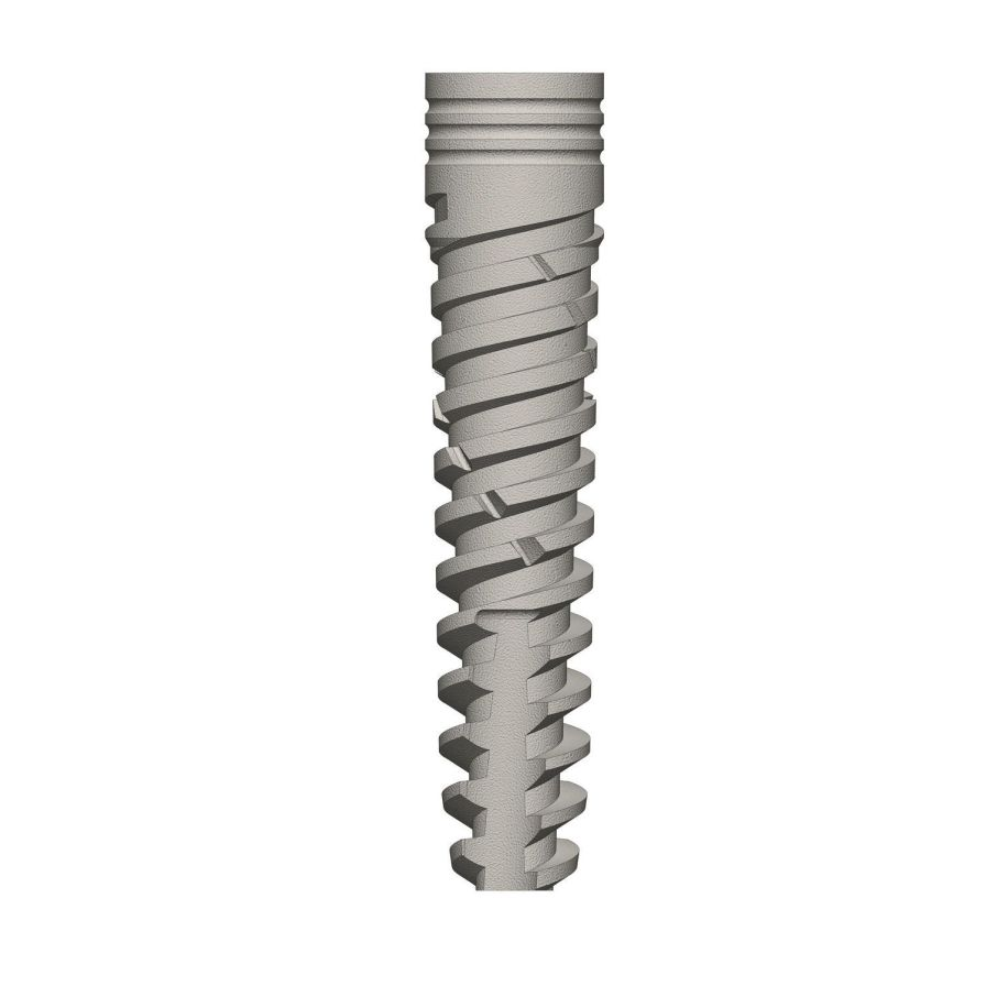 Cylindrical conical dental implant / titanium / internal hexagon ø 3.3 - 6 mm | Dynamix Prime series Cortex-Dental Implants Industries Ltd.