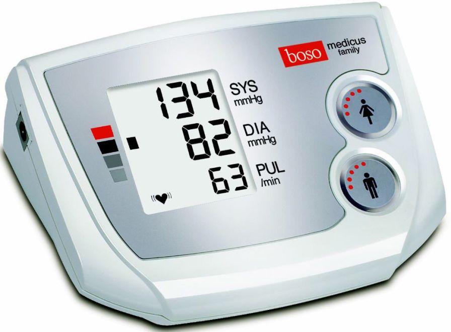 Automatic blood pressure monitor / electronic / arm boso medicus family Boso, Bosch + Sohn