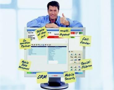 Alert system management web application / medical Bosch Security