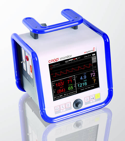 CNAP® Monitor for hemodynamic monitoring