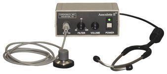 Electronic stethoscope / teleconsultation Ausculette Cardionics