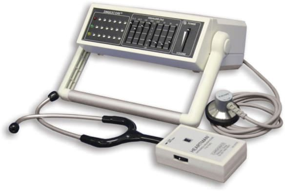 Auscultation training simulator / with sound generator Cardionics