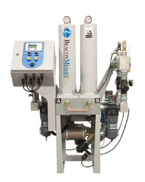 Desiccant compressed air dryer / medical LLD Beacon Medaes