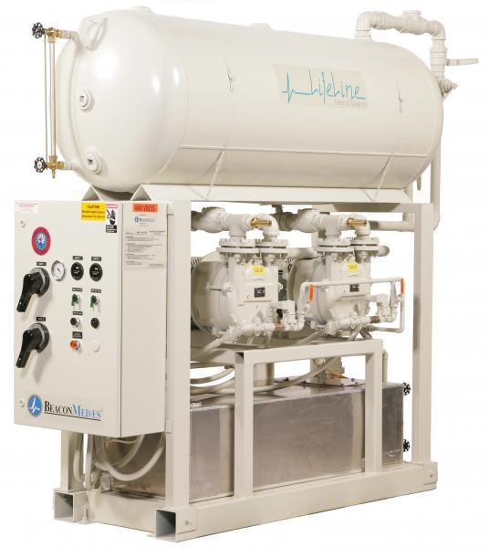 Medical vacuum system LVS Beacon Medaes