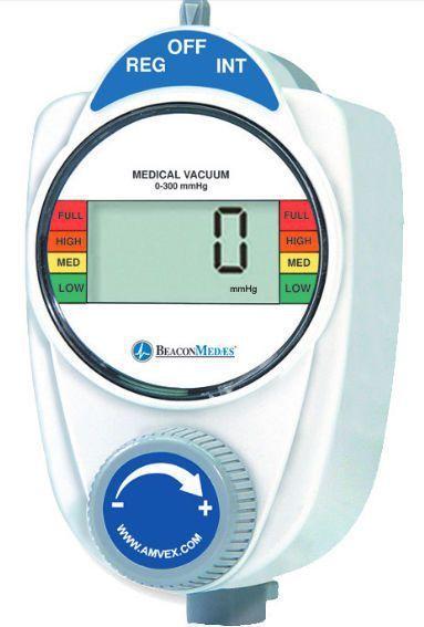 Vacuum regulator / plug-in type / continuous 0 - 300 mmHg Beacon Medaes