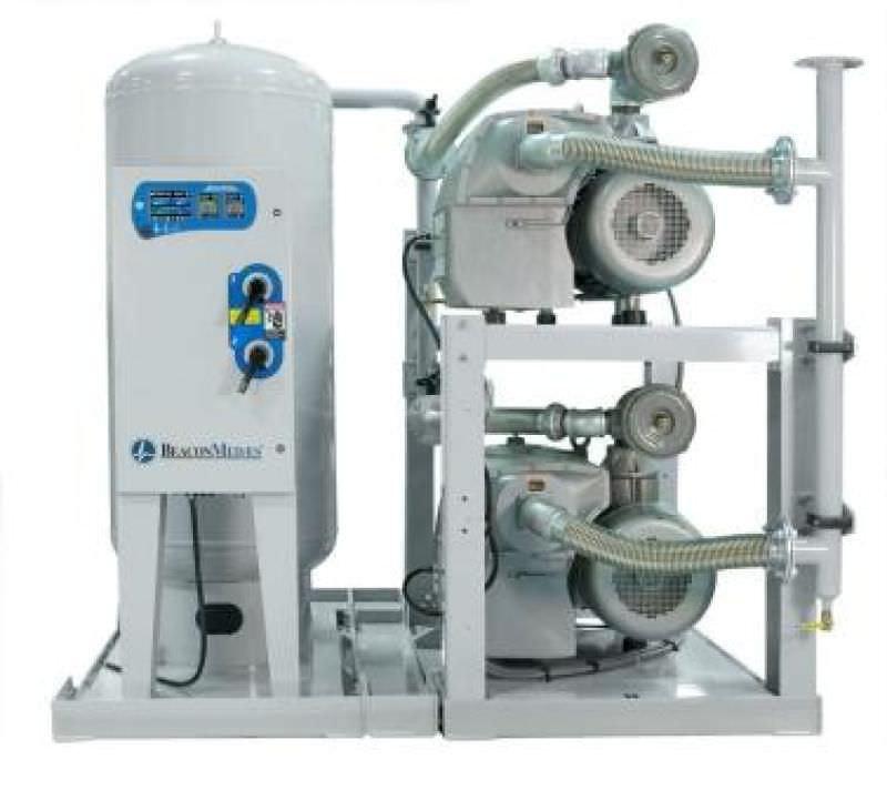 Medical vacuum system / rotary vane / lubricated VLT Beacon Medaes