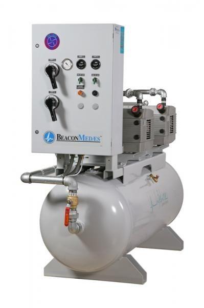 Medical vacuum system / rotary vane / oil-free LTV Beacon Medaes