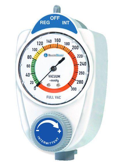 Vacuum regulator / plug-in type / continuous / intermittent 0 - 300 mmHg Beacon Medaes