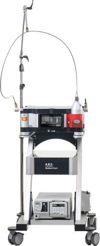 Surgical laser / CO2 / on trolley C-LAS A.R.C. Laser