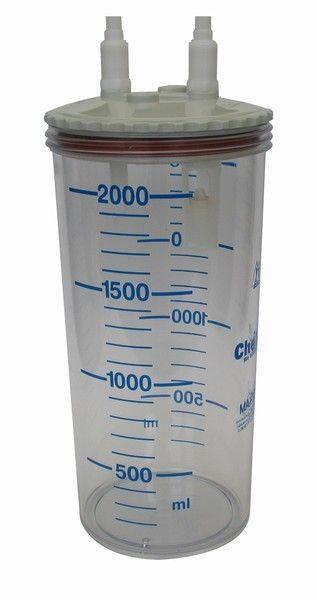 Suction unit jar / polycarbonate 111-888-201 | 2 L CHEIRON