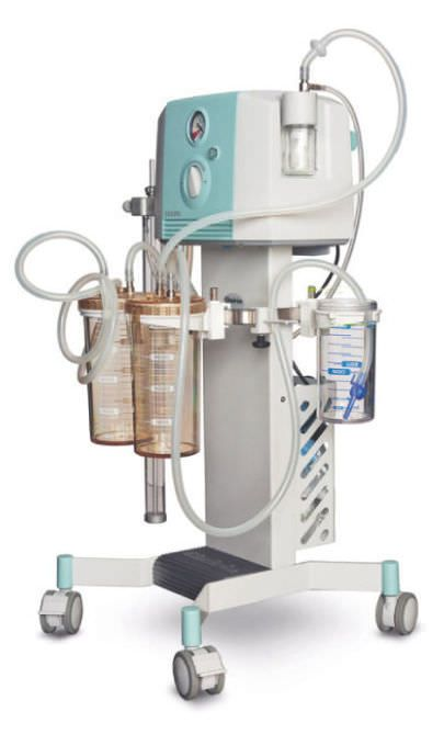 Electric surgical suction pump / handheld / for thoracic surgery Thorax CHEIRON