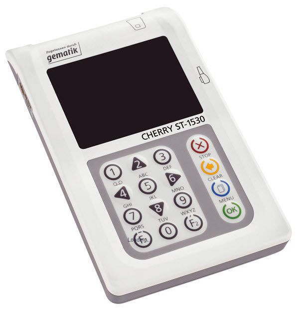 Insurance card reader health / mobile TERMINAL ST-1530 CHERRY