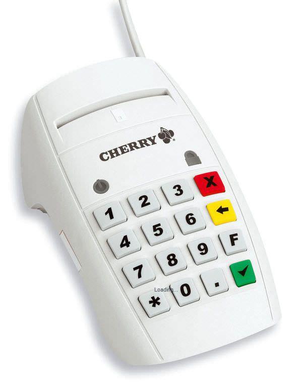 Insurance card reader health / USB TERMINAL ST-2052 CHERRY