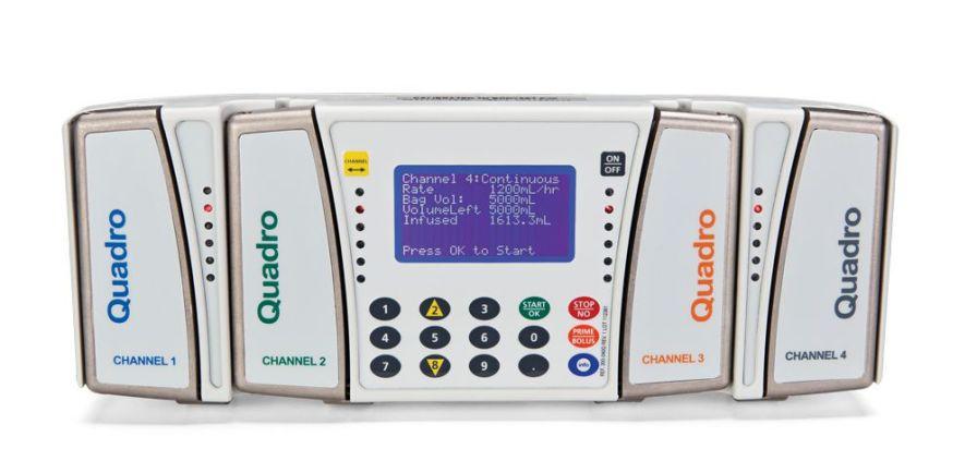 Volumetric infusion pump / 4-way / PCA 0.1 - 1200 ml/h   BodyGuard Quadro™ Caesarea Medical Electronics