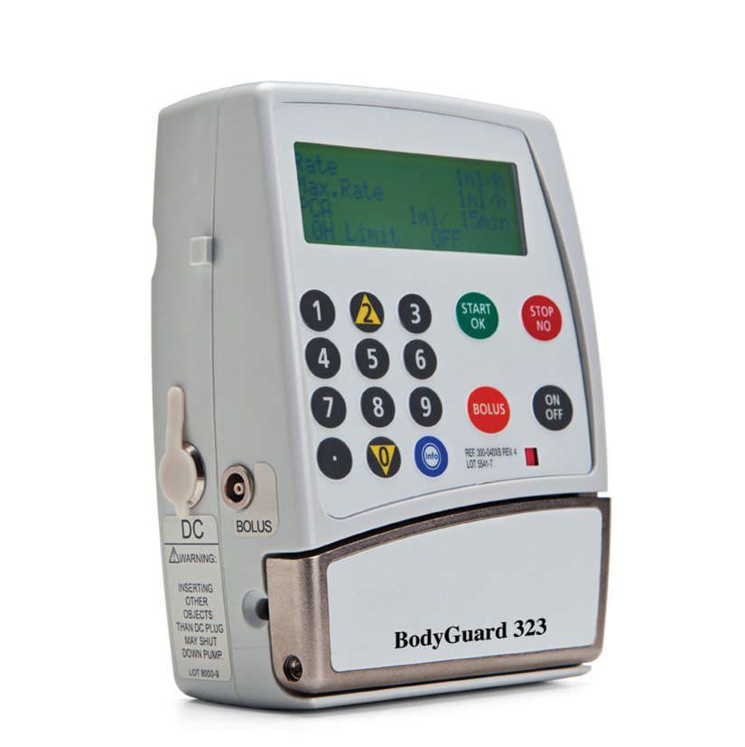 Ambulatory infusion pump / volumetric / 1 channel / PCA BodyGuard 323™ Caesarea Medical Electronics