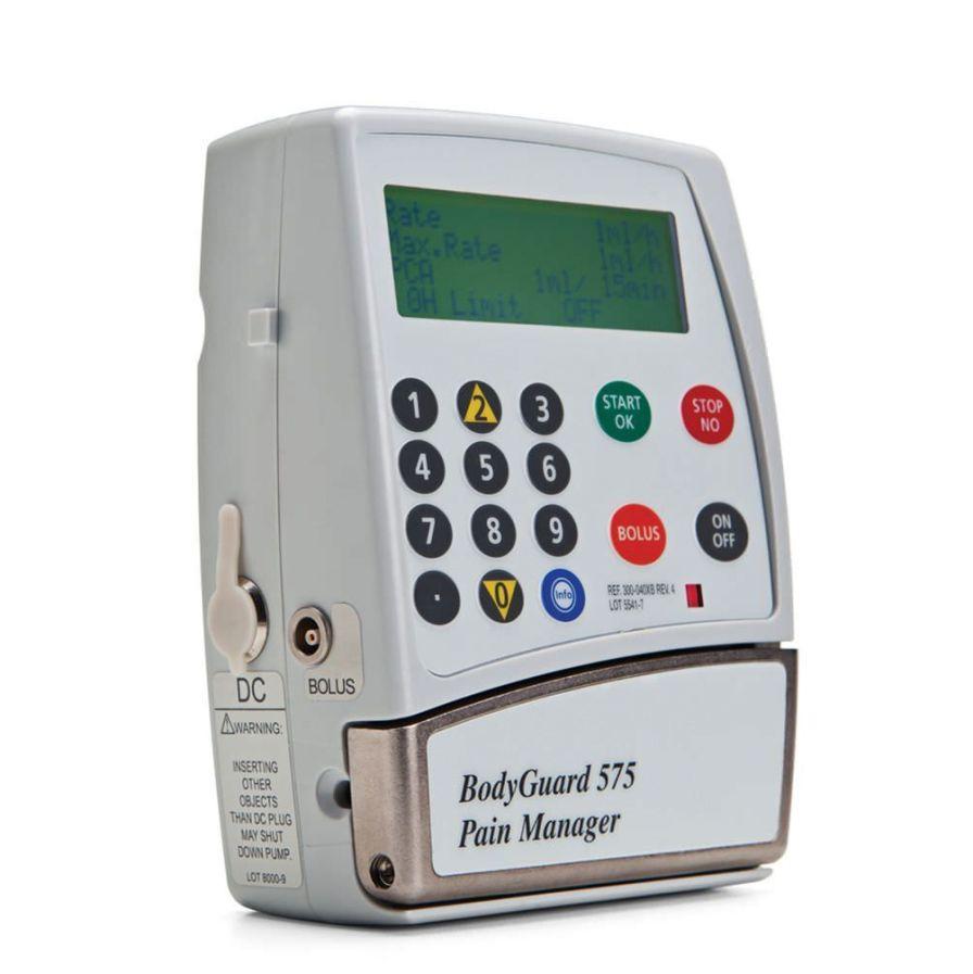 Volumetric infusion pump / 1 channel BodyGuard 575™ Caesarea Medical Electronics