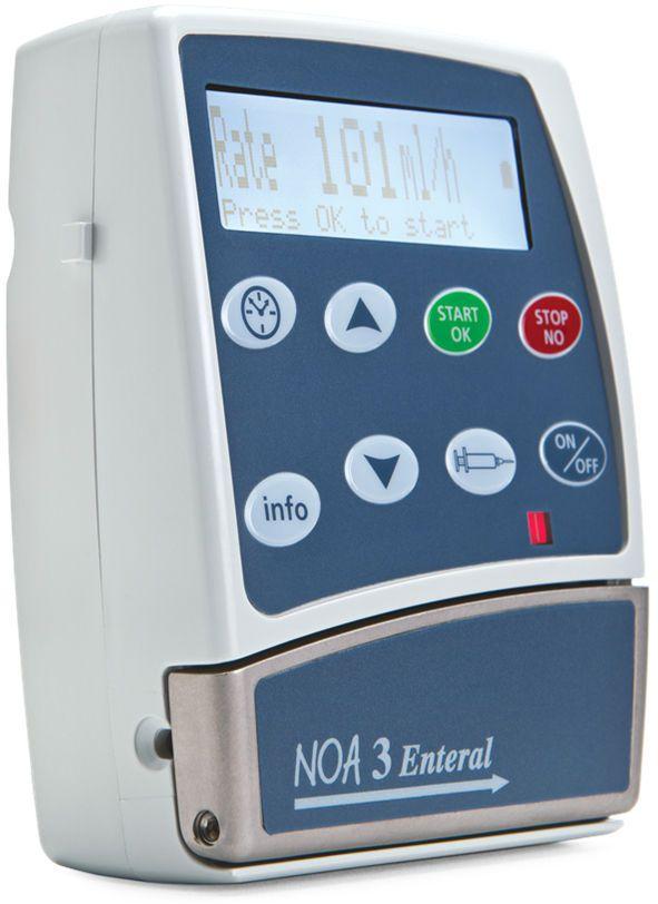 Volumetric infusion pump / ambulatory / 1 channel / PCA 0.1 - 600 ml/h  NOA 3™ Caesarea Medical Electronics