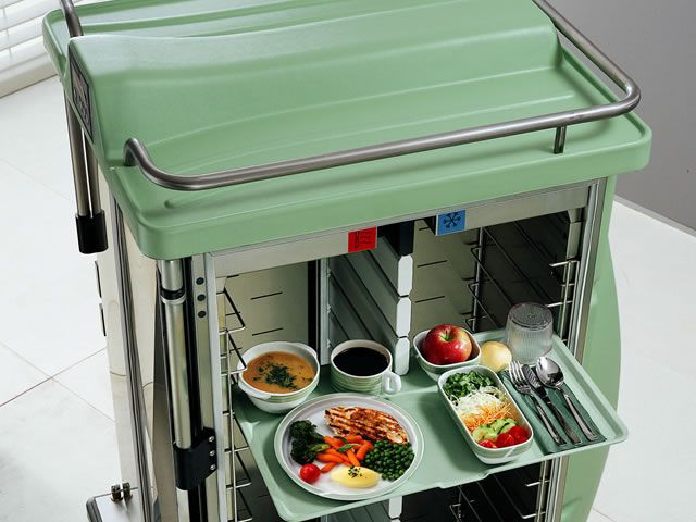 Distribution trolley / meal / open-structure RTS BURLODGE