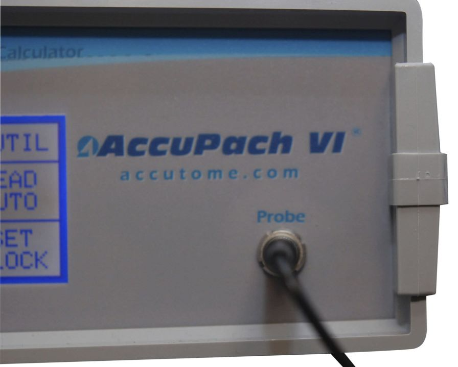 Pachymeter (ophthalmic examination) / ultrasound pachymetry ACCUPACH VI Accutome