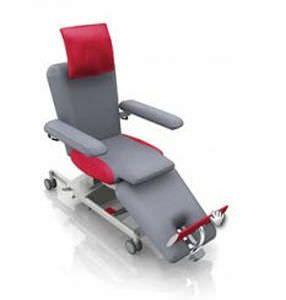 Electrical blood donor armchair / height-adjustable / on casters ComfortLine low Bionic Medizintechnik