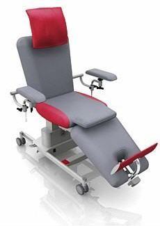Electrical blood donor armchair / on casters / height-adjustable ComfortLine Transfusion Bionic Medizintechnik