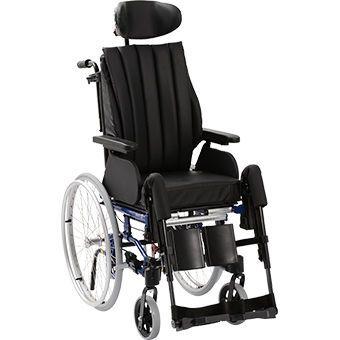Passive wheelchair / with headrest Netti 4U Comfort FA Alu Rehab