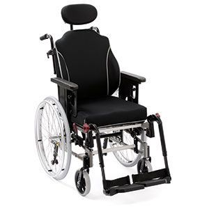 Passive wheelchair / with headrest Netti II Alu Rehab