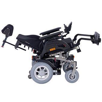 Electric wheelchair / height-adjustable / exterior / interior Netti Mobile Alu Rehab