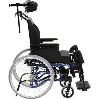Passive wheelchair / with headrest Netti 4U Comfort CE Alu Rehab