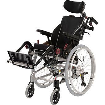 Passive wheelchair / reclining / with headrest / pediatric Netti Mini Alu Rehab