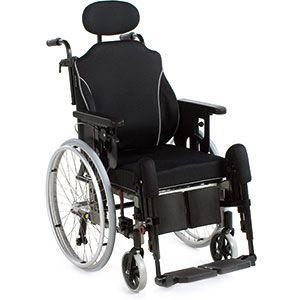 Passive wheelchair / with headrest Netti I Comfort Alu Rehab