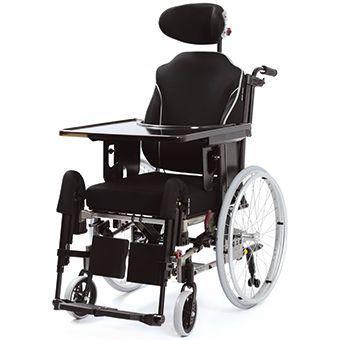 Passive wheelchair / reclining / with legrest / with headrest Netti III comfort Alu Rehab