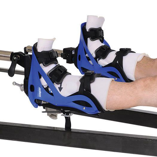 Boot-type leg holder operating table Active Heel™ Allen Medical Systems