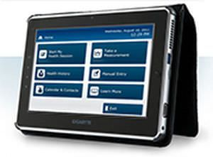 Vital sign telemonitoring system / with touchscreen Care Innovations