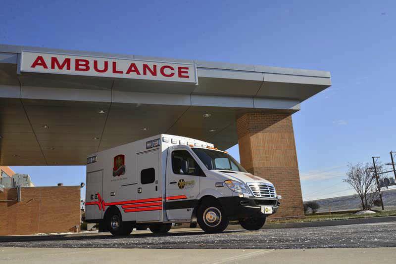 Emergency medical ambulance / box Responder Braun Industries, Inc.