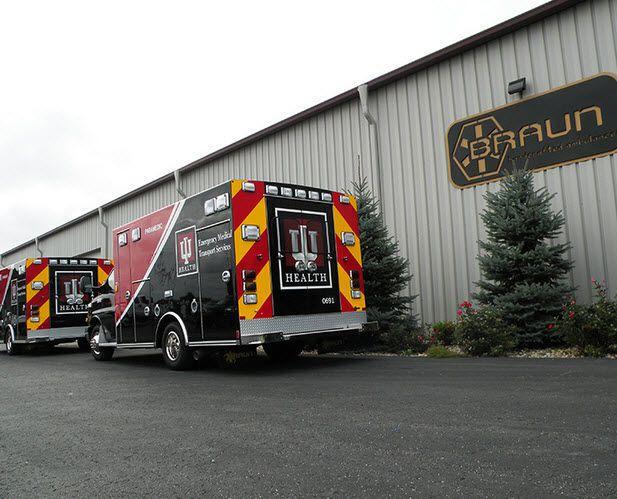 Emergency medical ambulance / box Signature series Braun Industries, Inc.