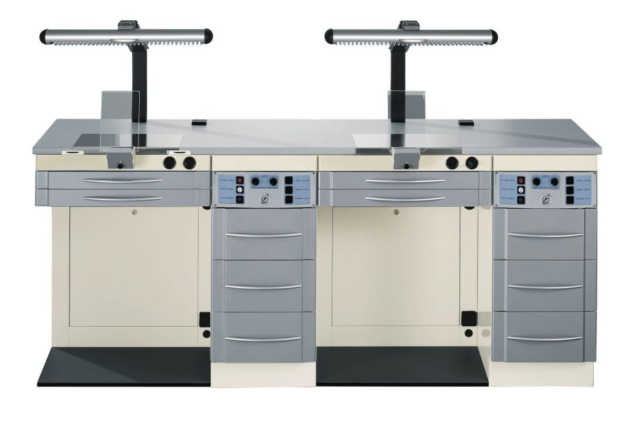 Dental laboratory workstation / 2-station NL2 ARIES s.n.c. di Adda G. & C.
