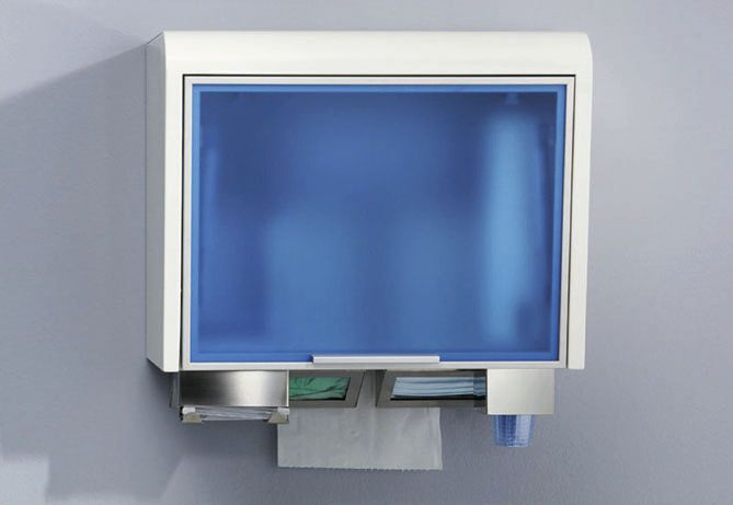 Medical cabinet / dental instrument / for healthcare facilities / wall-mounted TIDYBOX ARIES s.n.c. di Adda G. & C.
