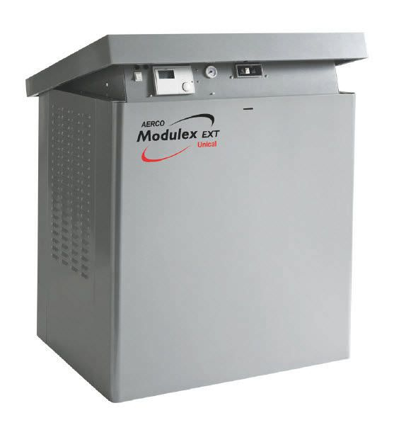 Hot water boiler / gas-fired / for healthcare facilities Modulex EXT AERCO International