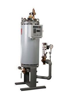 Steam boiler / for healthcare facilities Water-Wizard B+II AERCO International