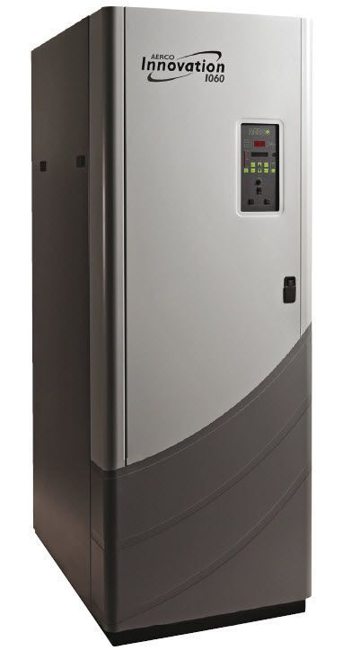 Hot water boiler / gas-fired / for healthcare facilities Innovation 1060 AERCO International
