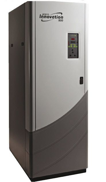 Hot water boiler / gas-fired / for healthcare facilities Innovation 800 AERCO International