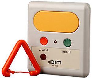 Nurse call system 2000 Alarm Radio Monitoring Ltd