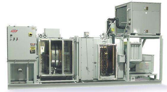 Dehumidifier for healthcare facilities / air / desiccant VFB® Bry-Air