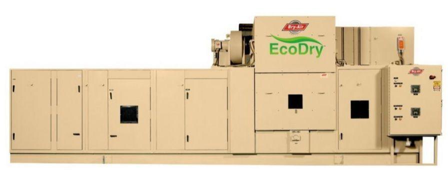 Dehumidifier for healthcare facilities / air / desiccant EcoDry Bry-Air
