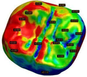 Prosthesis inspection software / medical / dental ORIGIN Inspection B&D Dental Technologies