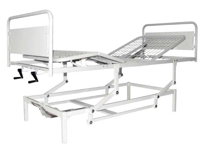 Mechanical bed / height-adjustable / 4 sections Euclide 4S AVO Antano Group