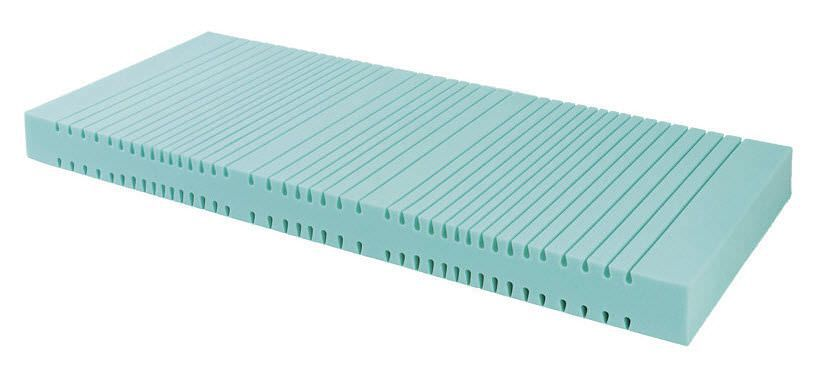 Anti-decubitus mattress / for hospital beds / foam / grooved structure KM06 Antano Group