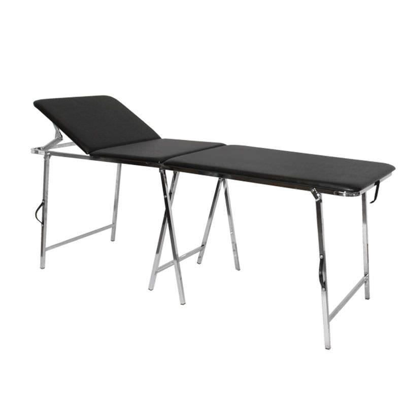 Folding examination table / fixed / 3-section Ovidio Valigia Antano Group