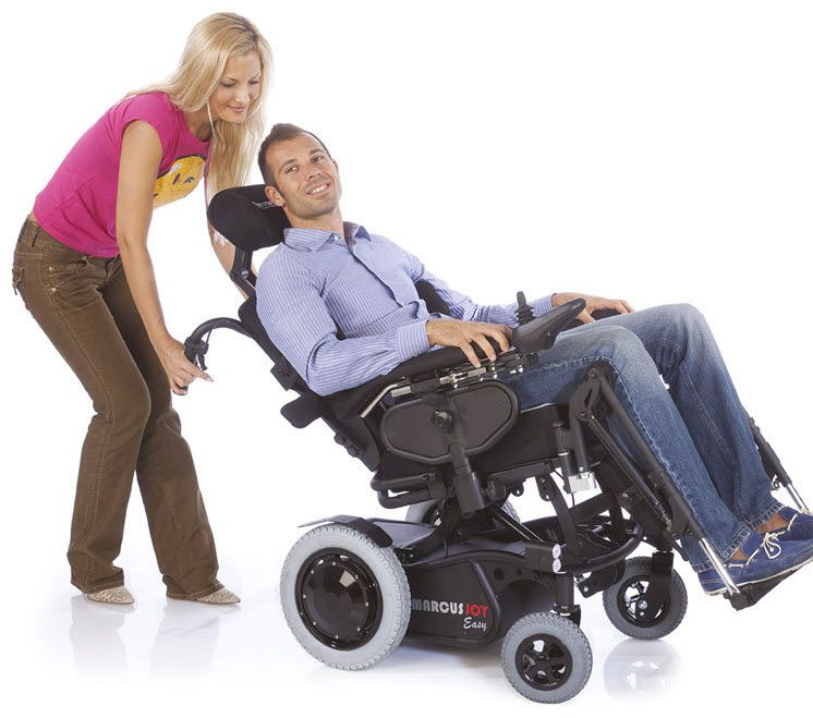 Electric wheelchair / interior / exterior Marcus Joy Easy Antano Group